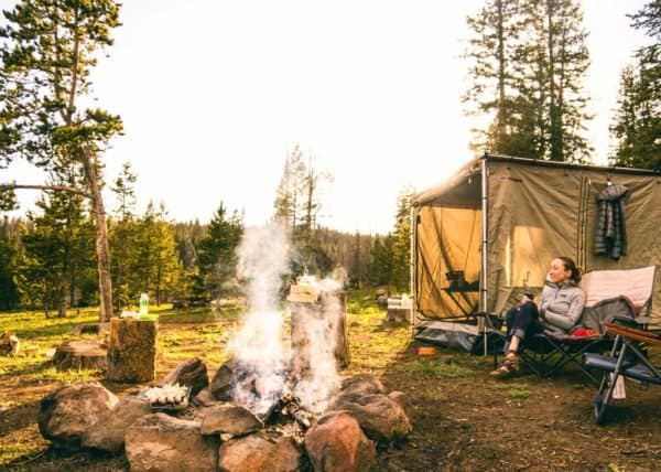 Looking for weekend getaway ideas? Why not try camping with your partner?