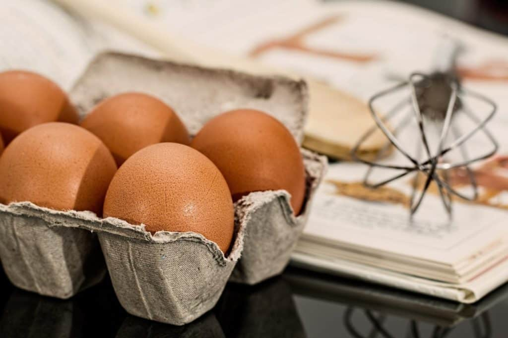 Eggs are a source of vegetarian protein, however not all vegetarians might agree on eating eggs.