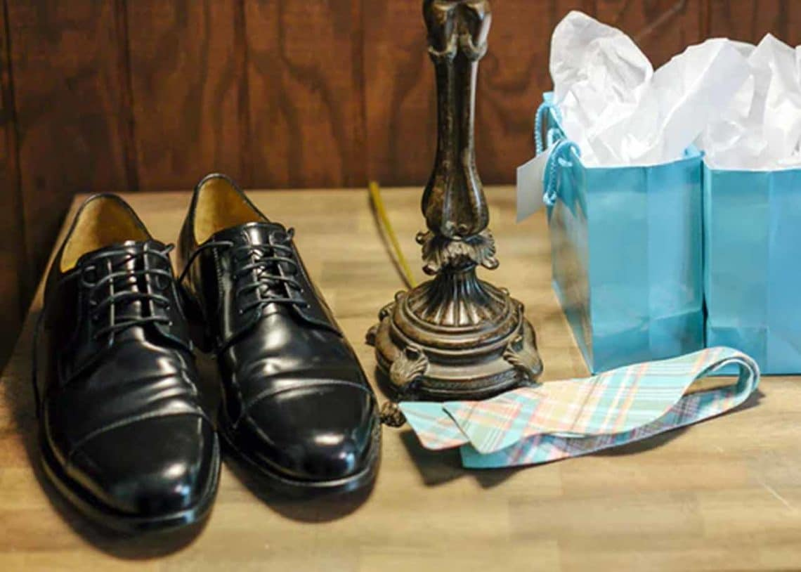 Make sure to use a protection or conditioner to make your leather shoes look shiny and to make it last longer