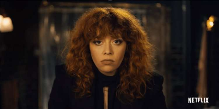 "Nadia isn't particularly pleased about her 36th birthday when ""Russian Doll"" starts (Image Credits: Netflix)"