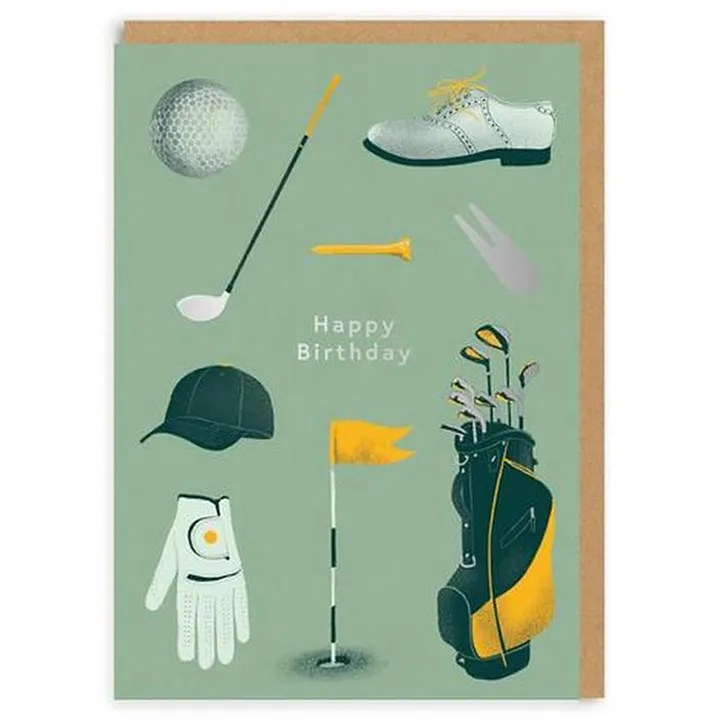 Ohh Deer Happy Birthday Golf Greeting Card Green Online In Oman Buy At Best Price From Firstcry Om 28056ae49b8c3