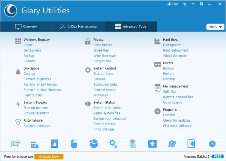 Resultado de imagen de Glary Utilities Pro 5