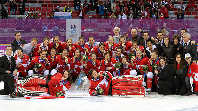 CANADA CAPTURES OLYMPIC GOLD IN OT