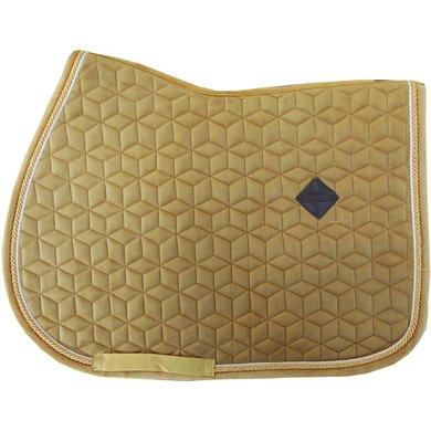 kentucky horsewear schabracke velvet senf