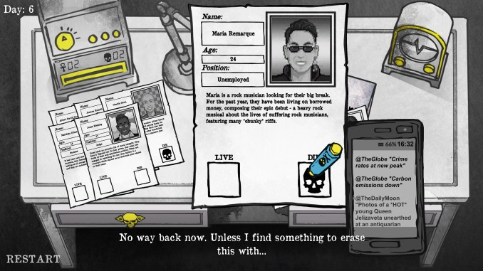 Death and Taxes screenshot 1