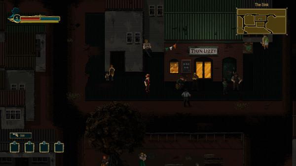 Pecaminosa - A Pixel Noir Game gameplay