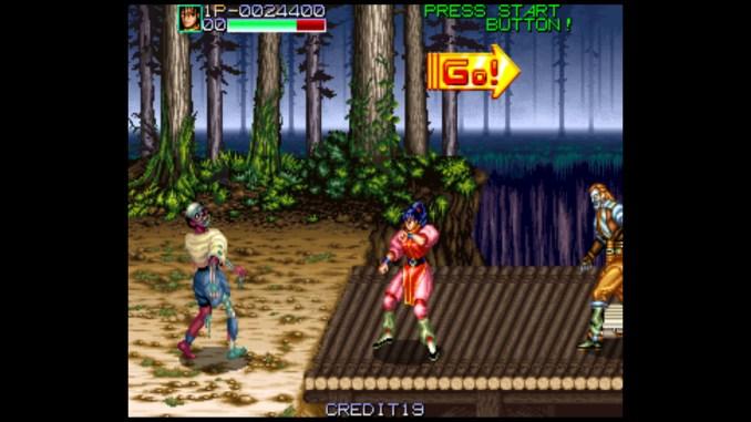 Retro Classix: Night Slashers screenshot 3