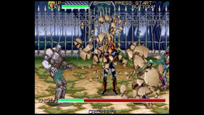 Retro Classix: Night Slashers screenshot 2