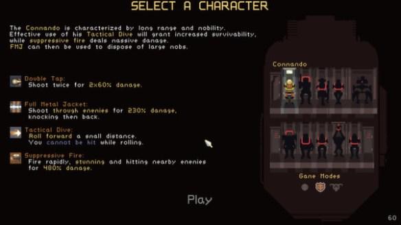 Risk of Rain - Character Select