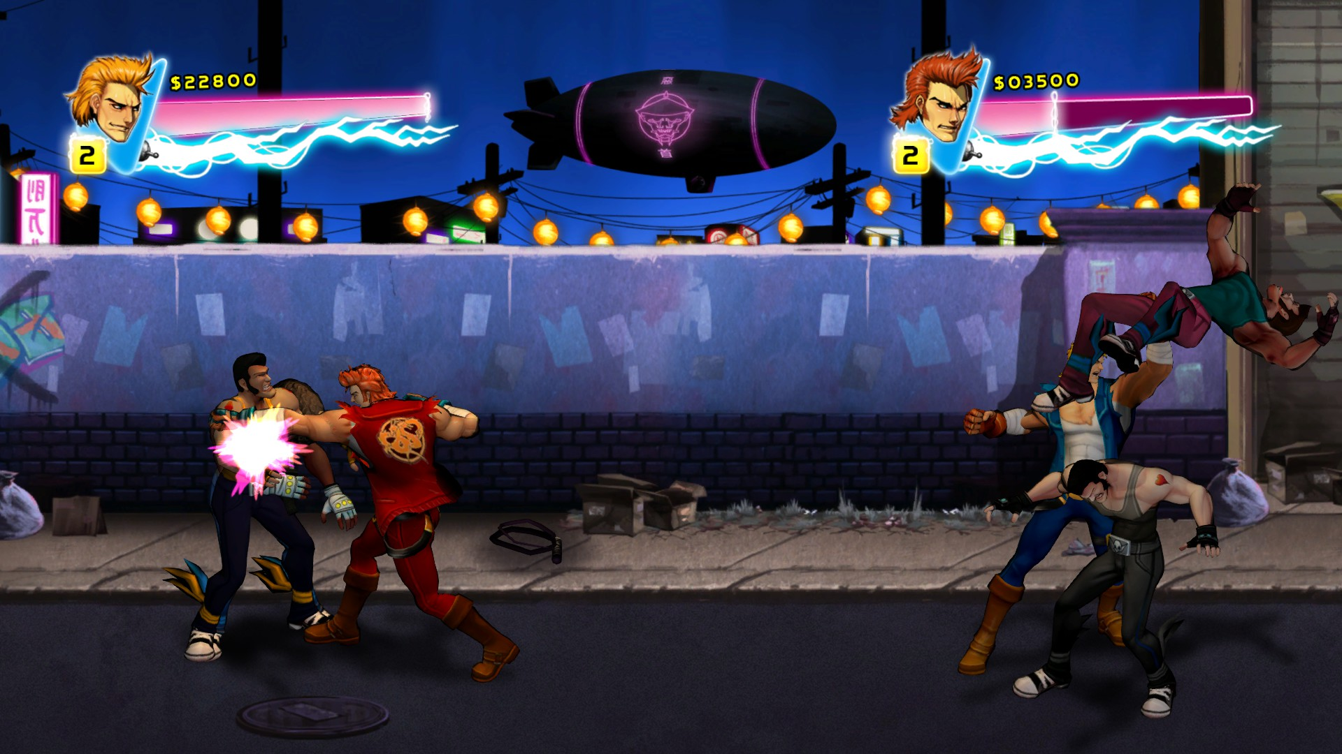 Download Double Dragon Neon Full PC Game