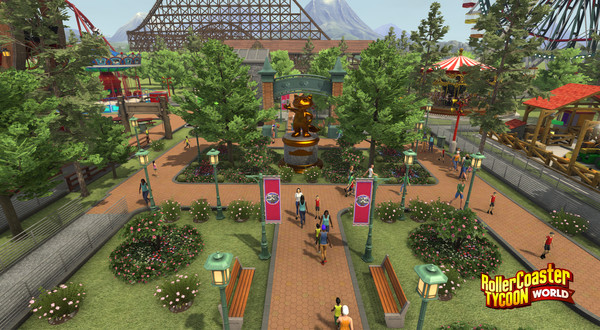 RollerCoaster Tycoon World™ Free Download