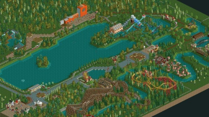 Rollercoaster Tycoon 2: Triple Thrill Pack screenshot 3