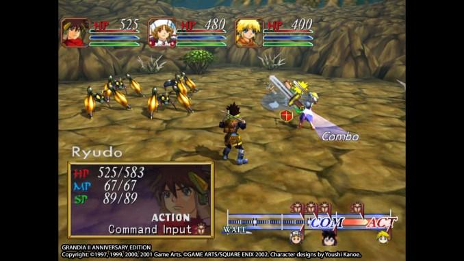 Grandia II Anniversary Edition screenshot 1