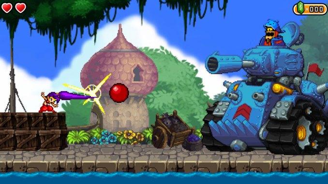 Shantae and the Pirate's Curse screenshot 1