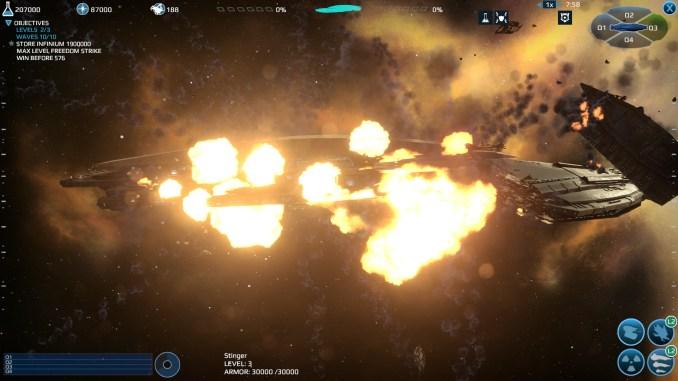 Infinium Strike screenshot 1