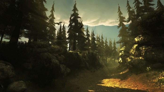 Floresta em Left Alone