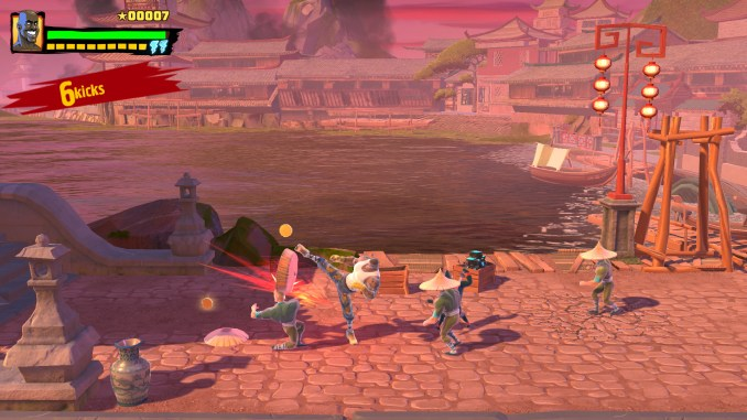 Shaq Fu: A Legend Reborn screenshot 1