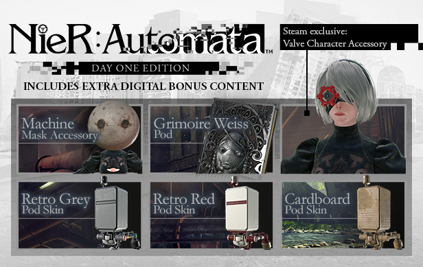 NieR Automata Day One Edition-FULL UNLOCKED