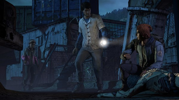 download The Walking Dead A New Frontier pc