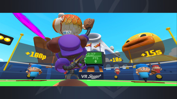 VR Slugger: The Toy Field