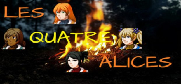 header - Les Quatre Alices The Four Alices Free Download