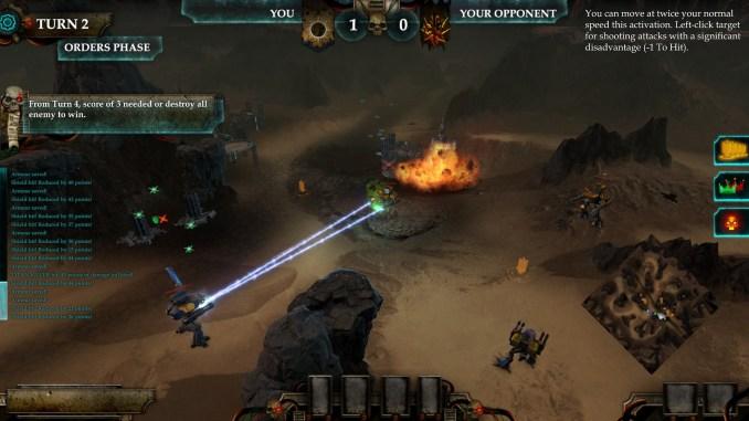 Adeptus Titanicus: Dominus screenshot 1