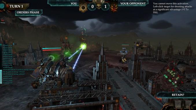 Adeptus Titanicus: Dominus screenshot 3