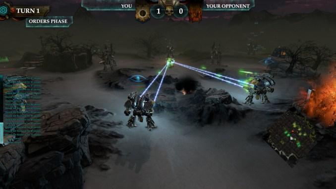 Adeptus Titanicus: Dominus screenshot 2