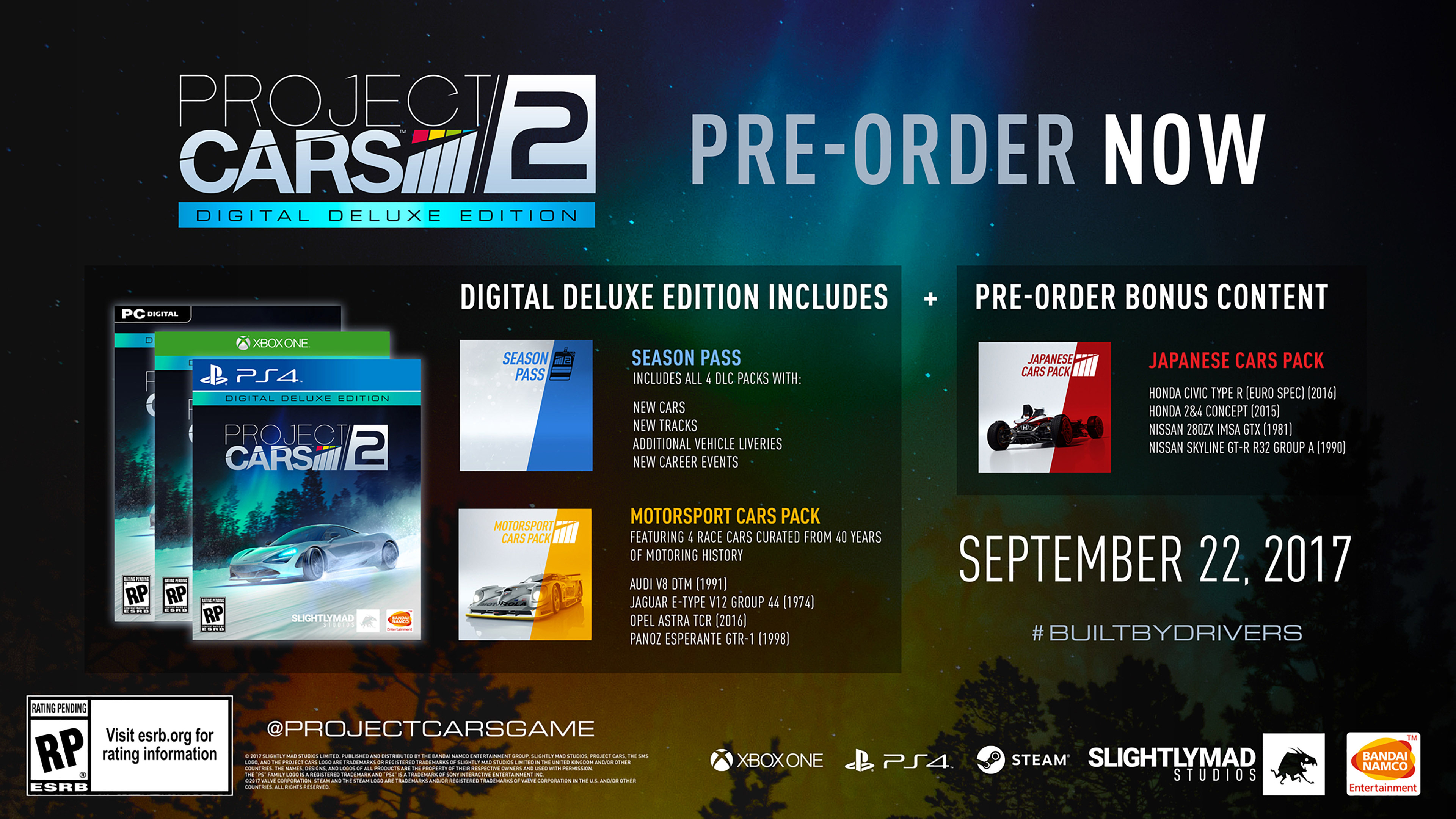 Image result for project cars 2 pre order