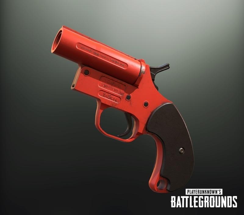 Flare Gun Coming To Pubg PUBATTLEGROUNDS