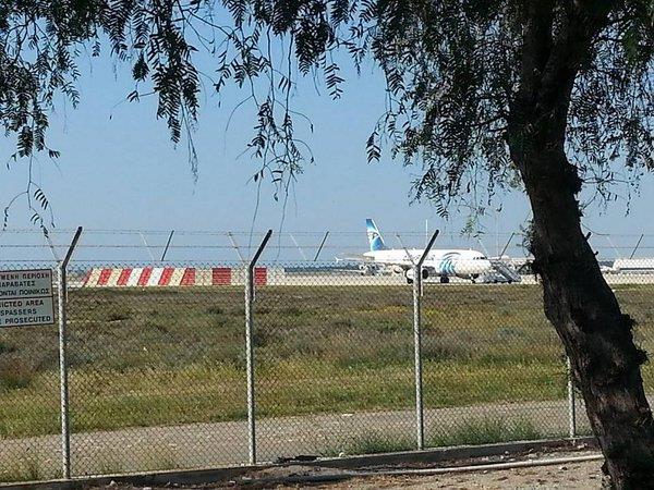 صورة للطائرة المختطفة