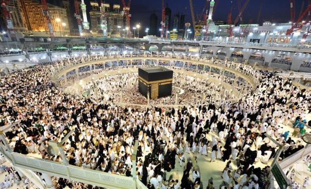 صلاة العشاء والتراويح بالمسجد الحرام