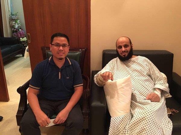 الطبيب الفلبيني الذي انقذ الشيخ عائض القرني