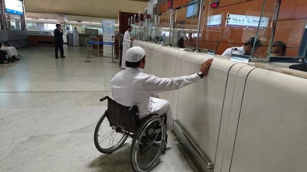 مواطن من ذوي الإعاقة يشكو صعوبة التعامل مع موظفي مطار جدة بسبب إعاقته