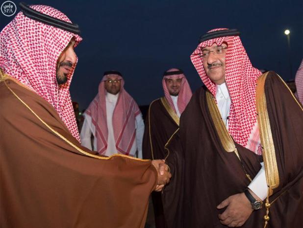 ولي العهد يغادر حفر الباطن متوجهاً إلى الرياض