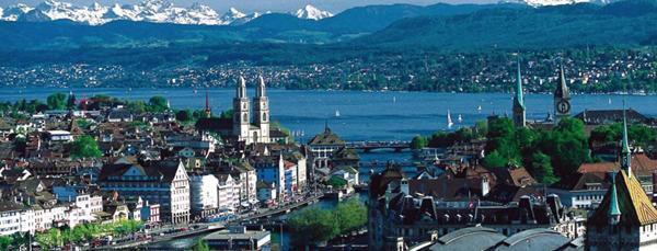 1- زيوريخ ــ سويسرا: تكاليف المعيشة الشهرية: 3632 دولاراً.