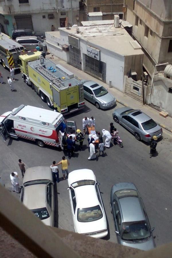 صور متداولة للحادث بمواقع التواصل الاجتماعي