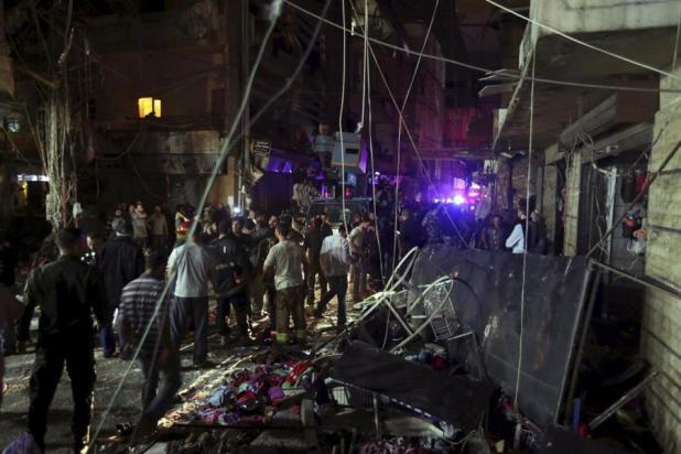 بالفيديو والصور.. 37 قتيلاً و180 جريحاً في تفجيرين انتحاريين ببيروت