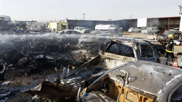 سقوط مقذوف في نجران