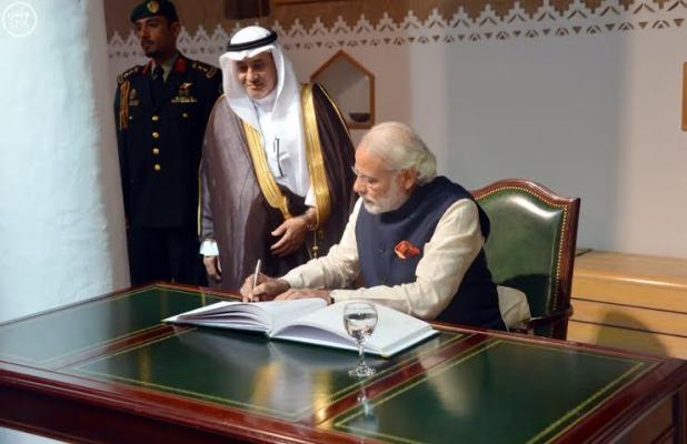 رئيس الوزراء الهندي يزور قصر المصمك التاريخي