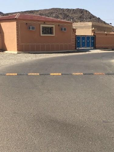 تركيب مطبات مطاطية عاكسة للإضاءة حفاظاً على سلامة المركبات بالمدينة