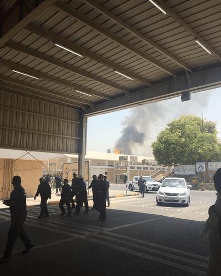بالفيديو والصور.. انفجار بوحدة لمصفاة الشعيبة الكويتية
