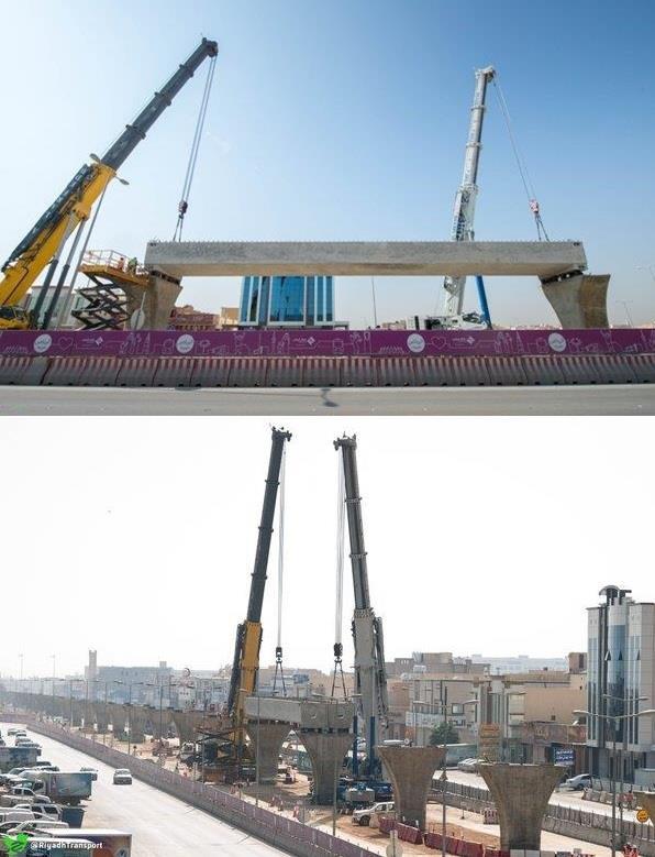 الشركة المنفذة لمشروع قطار الرياض