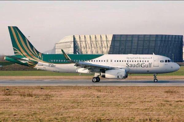 """طيران """"السعودية الخليجية"""" يدشن هويته.. ويطلق اسم الدمام على أولى طائراته"""