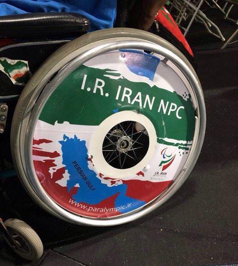 """بعثة السعودية في """"البارالمبية"""" تحتج على استفزازات الإيرانيين بعد وضع علمهم على خارطة المملكة - صور"""