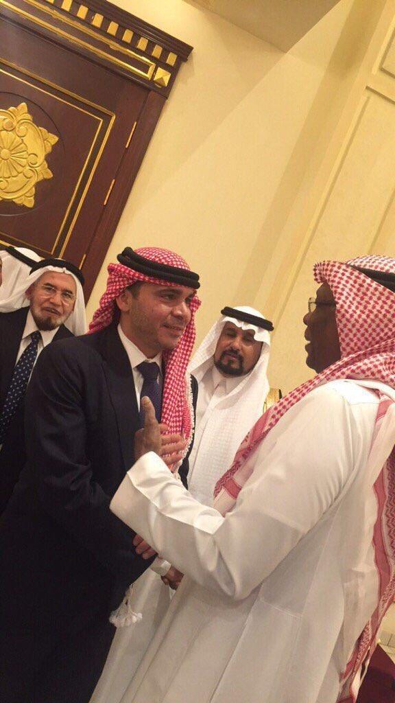 Current Image الأمير علي بن الحسين يزور الباحة لحضور حفل زفاف نجل الأمين العام للاتحاد العربي