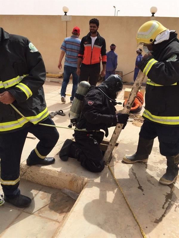 """مصرع 3 عمال سقطوا في خزانات معالجة الصرف بـ""""شقراء"""""""