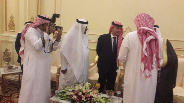 الأمير علي بن الحسين يزور الباحة لحضور حفل زفاف نجل الأمين العام للاتحاد العربي