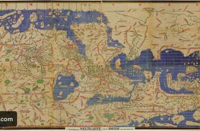 اول من رسم خريطة العالم من 8 حروف