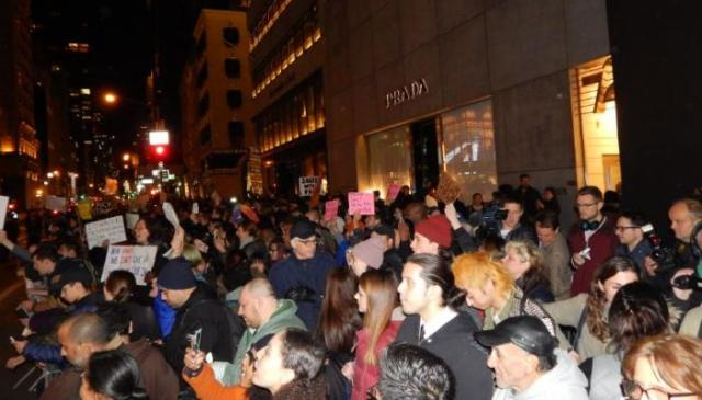 تظاهرات ضد ترامب في نيويورك لليوم الثاني